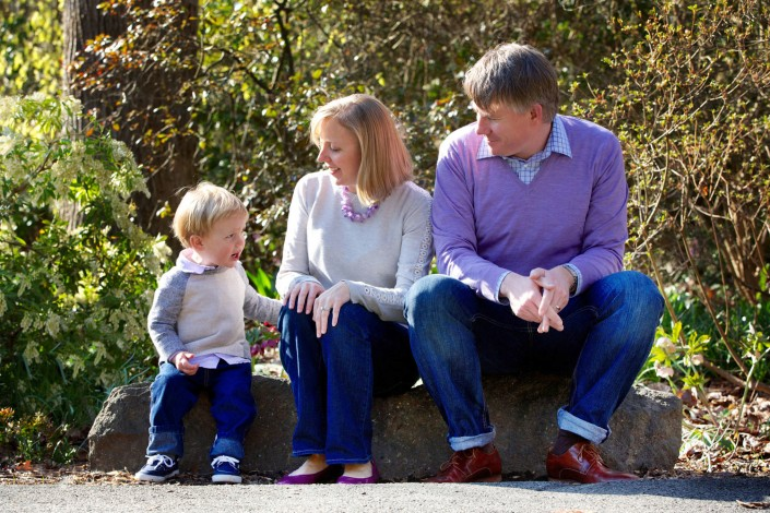 Family portraits Brookside Gardens